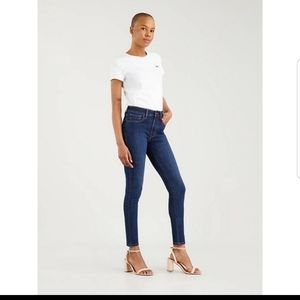 Levis women's 721 high rise skinny jeans. Size 25